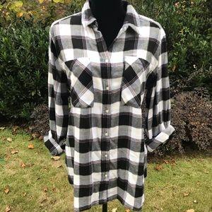 NWT! Express Flannel Shirt